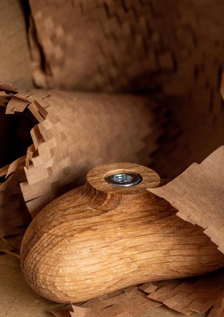 Barbora Adamonyte-Keidune Design Pup Oak Wall Hook 8